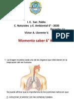 Momento Saber 2 - 6°
