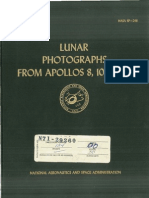 Lunar Photographs From Apollos 8, 10, And 11