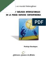 Libro Literatura Mapuche Contemporánea