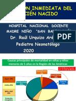 ATENCION INMEDIATA DEL RN  2020.ppt