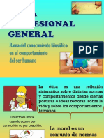 Ética Profesional General.