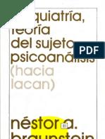 Psiquiatría, teoría del sujeto, psicoanálisis [Néstor A. Braunstein].pdf