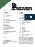 Resumen de revistas Internacionales