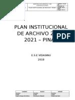 Plan Institucional de Archivo - PINAR (1)