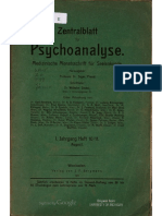 Zentralblatt Fur Psychoanalyse 1 10-11