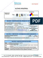 ALCOHOL INDUSTRIAL (MSDS)