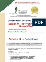 5.- NIIF Sección 11 - Instrumentos financieros