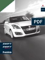 Suzuki_Swift_Swift_Sport_Typenkatalog_Preisliste_Stand_September2013