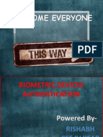 Biometric Device Authentication