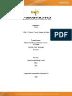 Taller 1 Costos y costeo sistemas de costeo MARIA PAULA Y GERALDIN SANTA