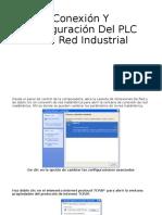 Conexión Y Configuración Del PLC A La Red