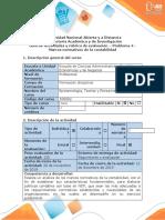 Guia de actividades y rubrica de evaluacion Problema 4 - Marcos normativos de la contabilidad