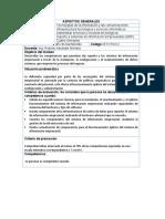 Descriptor de Modulo -  Sistemas ERP