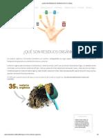 ¿QUÉ SON RESIDUOS ORGÁNICOS_ _ 5 Cubitos