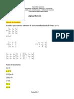 Algebra Matricial Doolittle.docx
