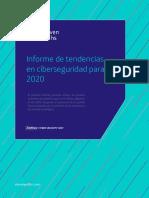 Informe de Tendencia Ciberseguridad 2020
