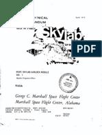 MSFC Skylab Airlock Module, Volume 1