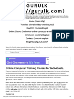 Individual Computer Training Courses From Basics to Advanced