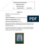 SEQUENCIA DIDATICA FESTA DAS CORES . PRÉ 1