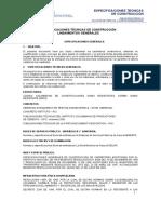 ANEXO A2_Especificaciones tecnicas - Adecuaciones Hospital San Vicente de Arauca