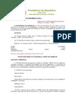 PNSST - Decreto 7.602-11