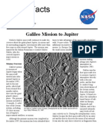 NASA Facts Galileo Mission to Jupiter