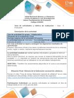 Guia de actividades y Rúbrica de evaluación Caso 5-Evaluación