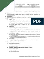 PTS de Carga y Descarga de Planchas en Mesa de Corte Empresa Rossi - Rossi