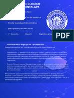 Expocicion - administracion de proyectos - Investigacion de operaciones