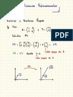 valores vectores propios