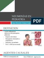 Neumonías en pediatría CESAR