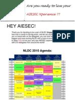 Revised Delegate Mailer