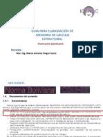 Presentacion Prop Memoria de Calculo
