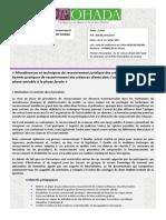 Microfinance et Techniques de recouvrement