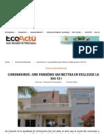 Coronavirus _ Une Pandémie Qui Mettra En Veilleuse La Loi 104-12 !.pdf