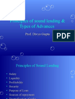 Principles of Sound Lending & Types of Advances.ppt
