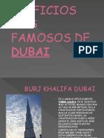 EDIFICIOS MAS FAMOSOS DE DUBAI