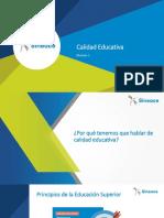 Acreditación Para La Mejora Continua y La Calidad Educativa - Módulo i