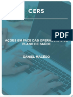AÇÕES EM FACE DE OPERADORAS DE PLANO DE SAÚDE AULA 1