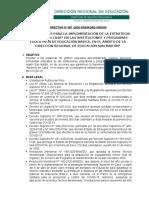 OREINTACIONES APRENDO EN CASA DRESM.