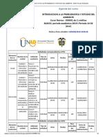 Agenda - INTRODUCCION A LA PROBLEMATICA Y ESTUDIO DEL AMBIENTE - 2019 I Periodo 16-02 (612)