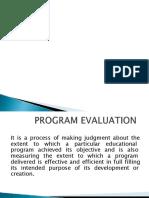 Program  evaluation  2.pptx
