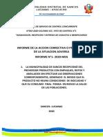 Informe de Servicio de Control Concurrente