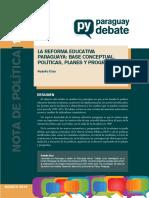 LA REFORMA EDUCATIVA PARAGUAYA.pdf