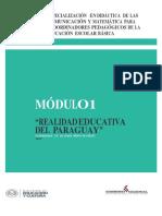 Modulo Realidad Educativa Paraguay - 2012