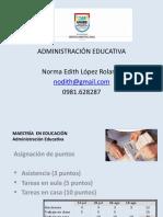 MEduc - Administración Educativa - Módulo Introductorio