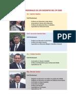Perfil Profesional Profes CPI