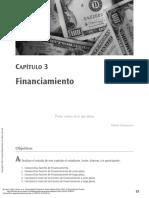 Administración financiera (CAPÍTULO 3 FINANCIAMIENTO)