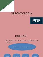 GERONTOLOGIA