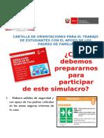 CARTILLA DE ORIENTACIONES PARA SIMULACRO DE SISMO..docx